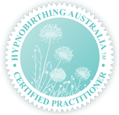 Hypnobirthing Australia certified practitioner badge