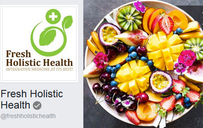 Fresh Holistic Health Logo