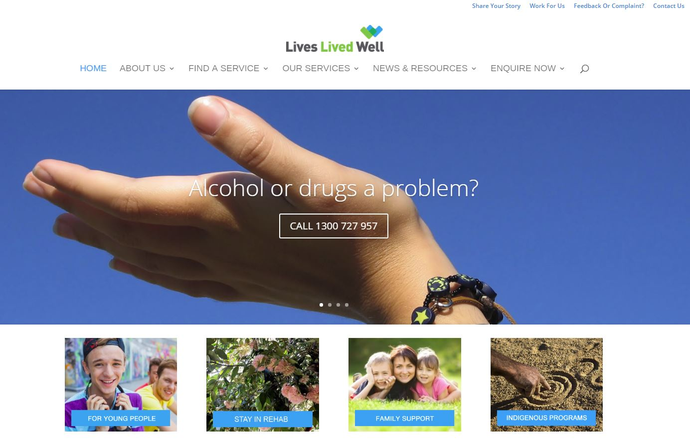 lives well lived drug counselling