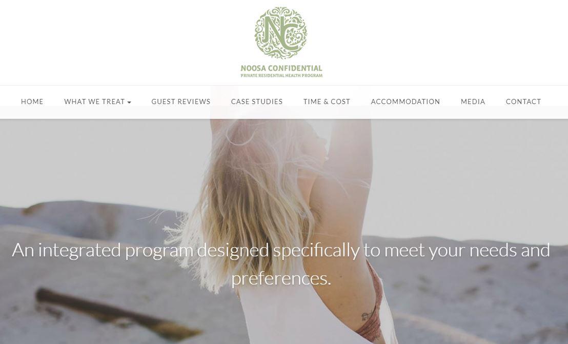 Noosa Confidential website